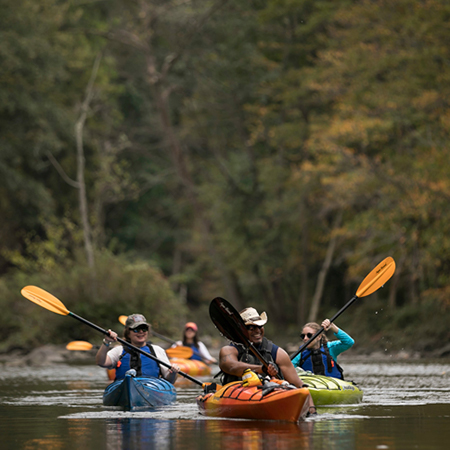 CROTON RIVER KAYAK TOUR